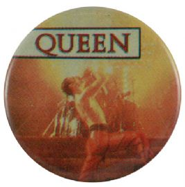 Queen - 'Freddie Stage Lights' Button Badge